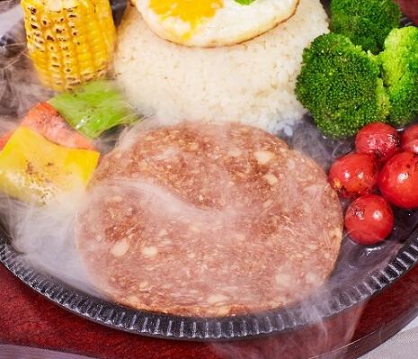 转角酱子板烧鳕鱼牛排饭正面