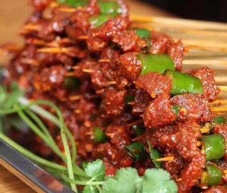 龙串串火锅肉串
