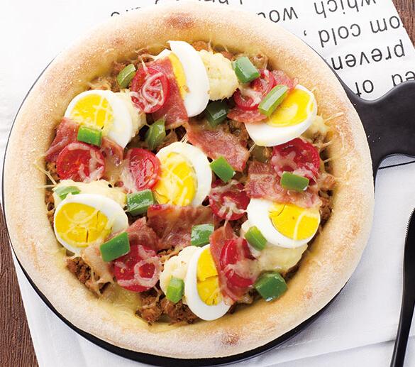爱8寸阑妃肉酱披萨