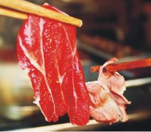 汕锦记潮汕牛肉火锅鲜牛肉