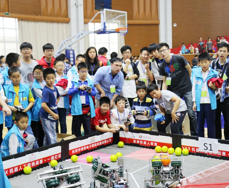 雄孩子机器人大赛