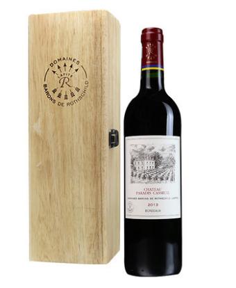 拉菲凯萨天堂古堡波尔多红葡萄酒