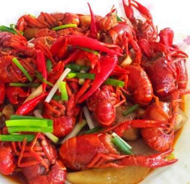 红江湖麻辣小龙虾煮龙虾