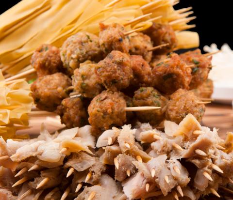 杨翔豆皮涮牛肚菜品丰富
