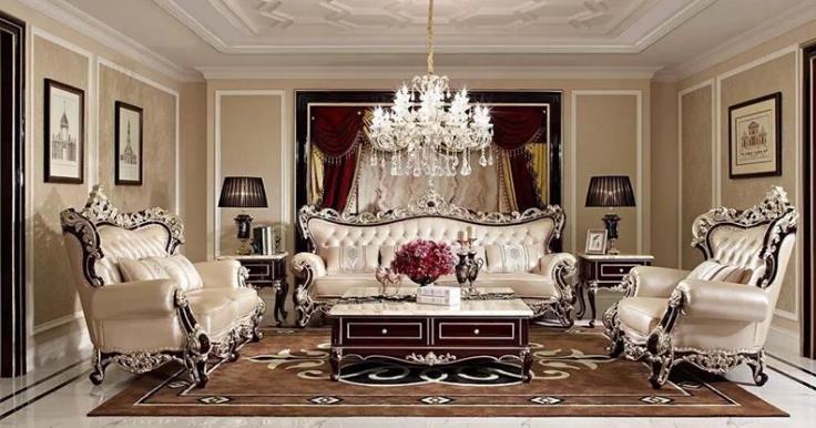 M&H法式新古典家具整体沙发