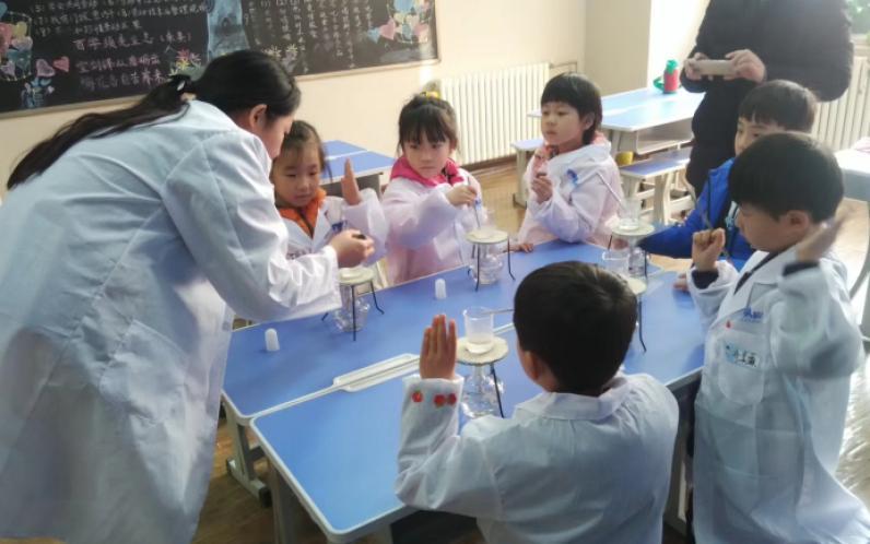 小牛顿科学实验班趣味实验