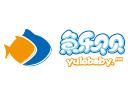魚樂貝貝嬰兒游泳館品牌logo