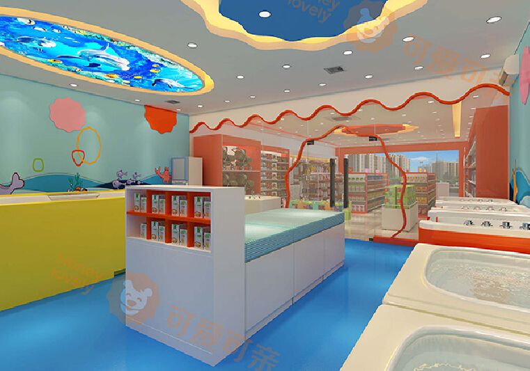 可爱可亲母婴生活馆孩子休息室