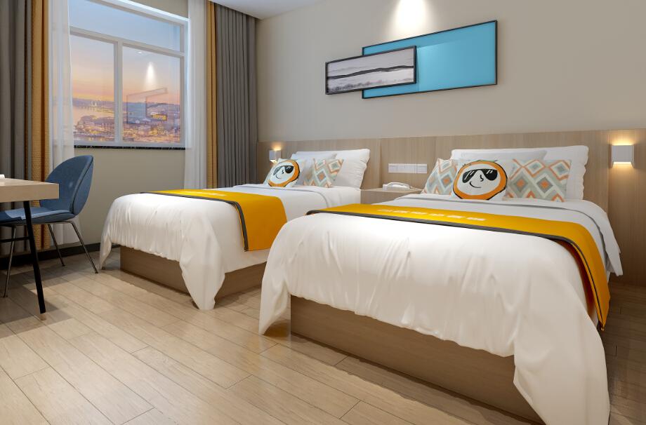 橙客酒店标准房