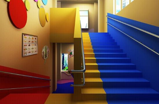 金色摇篮幼儿园内景