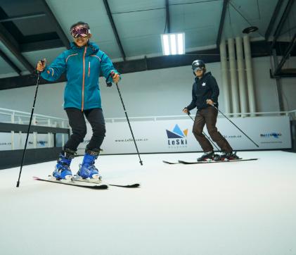 雪乐山滑雪滑雪机