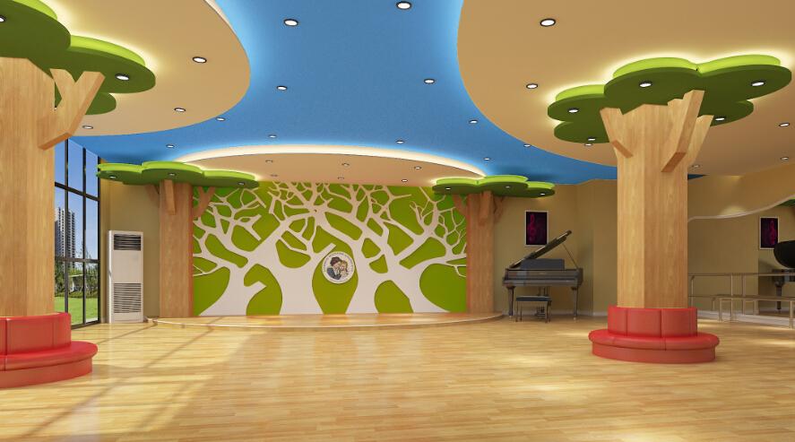 自然树幼儿园音体室