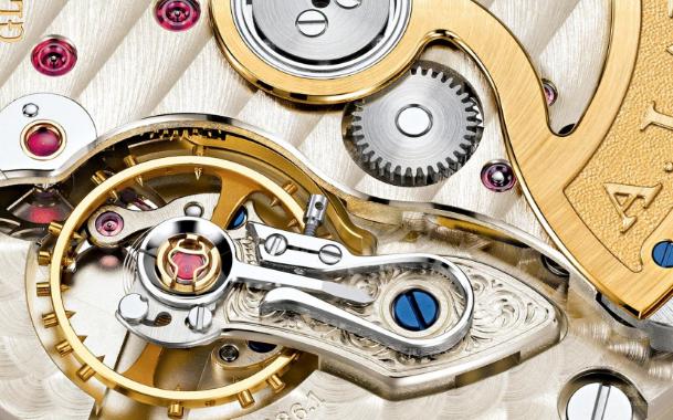 朗格手表精致细节展示