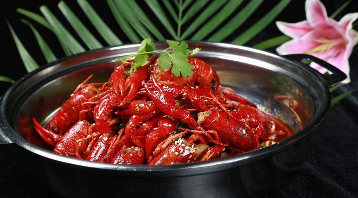 杨村麻辣小龙虾酱汁龙虾