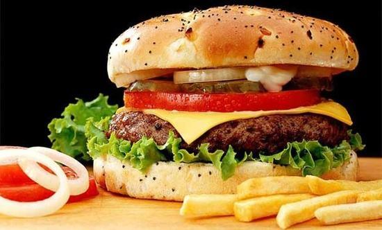 好吃的汉堡
