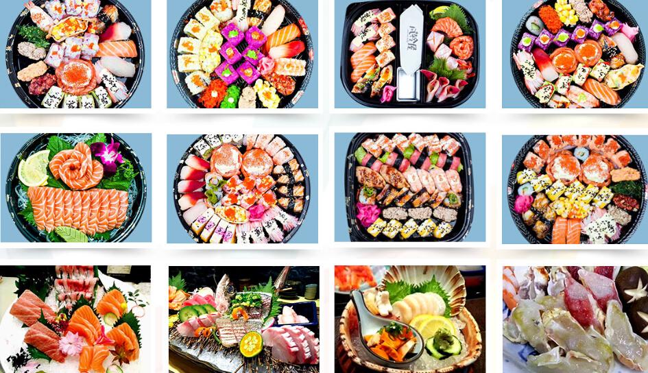 风铃屋精致寿司多样化产品