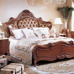 M&H法式新古典家具实木床