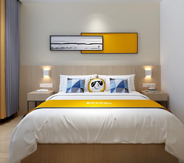 橙客酒店大床房