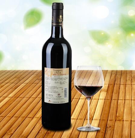 法国波尔多干红葡萄酒主推