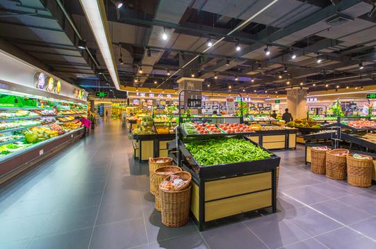 生鲜超市内景