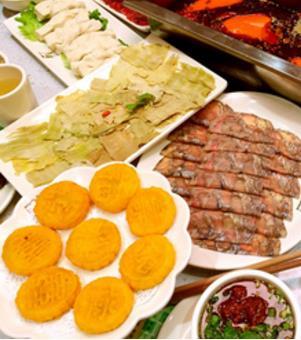 重庆侨林火锅菜类
