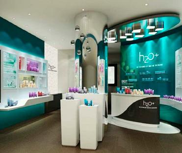 H2O化妆品专柜