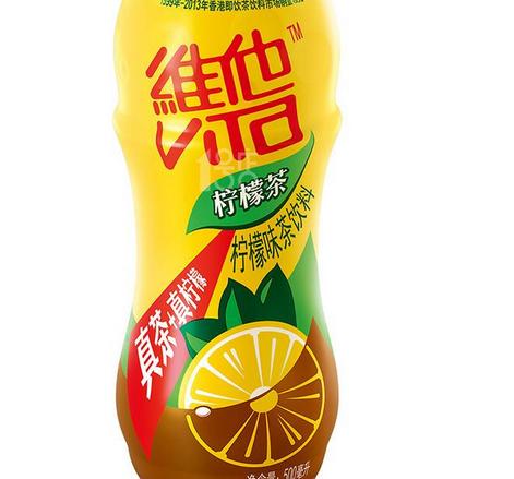 维他柠檬茶瓶装