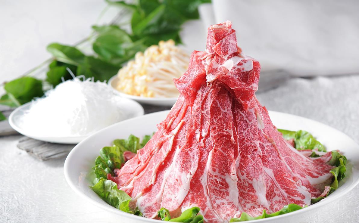 阿香婆火锅肉食