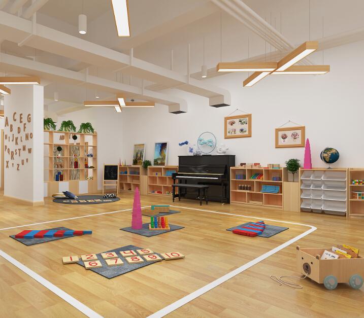自然树幼儿园教玩室