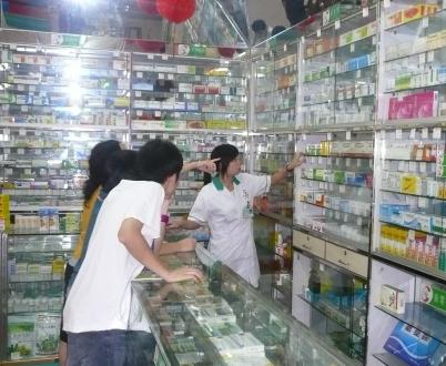 国药医药药店实拍