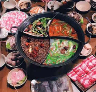 重庆白乐天火锅菜品
