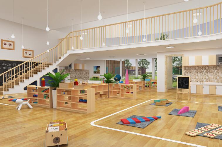 自然树幼儿园儿童活动室