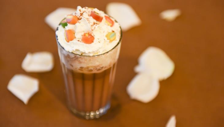 奶熊奶茶巧克力冰淇淋