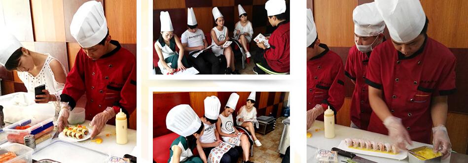 风铃屋精致寿司厨师