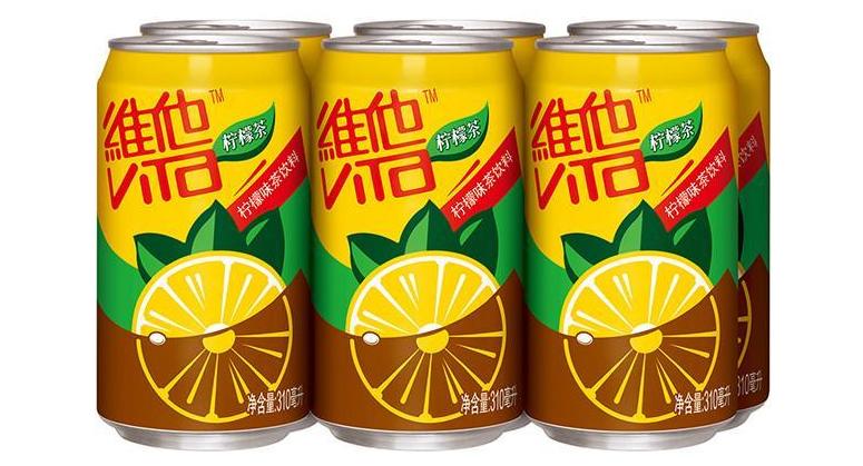 维他柠檬茶罐装