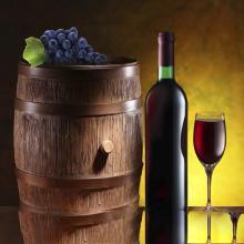 名庄半干型红酒