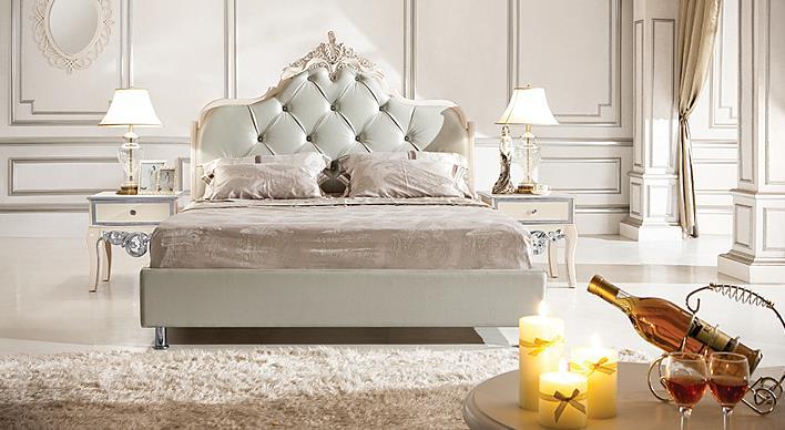 M&H法式新古典家具欧式床