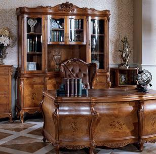 M&H法式新古典家具书柜