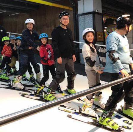 雪乐山滑雪练习