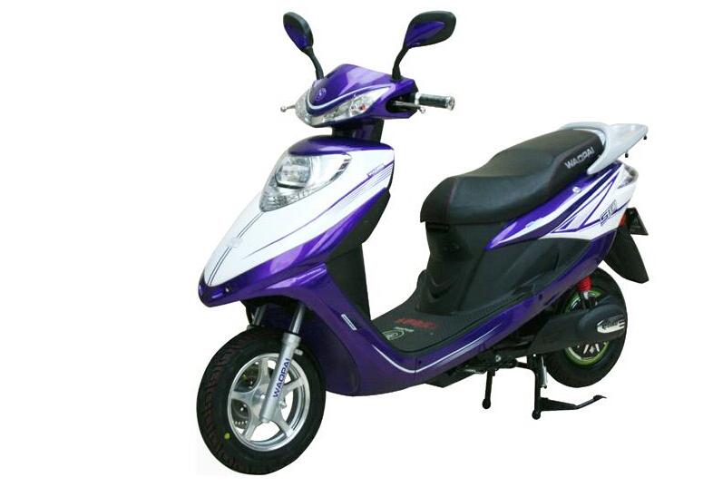 王派电动车紫色电动车