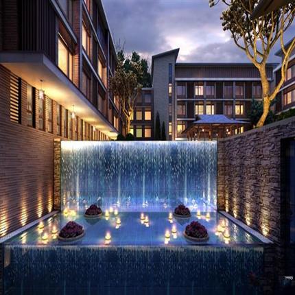 华北酒店场景图