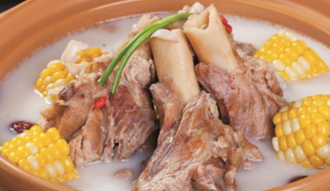 徐记羊骨头火锅玉米汤