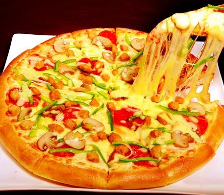 靓堡王香辣披萨