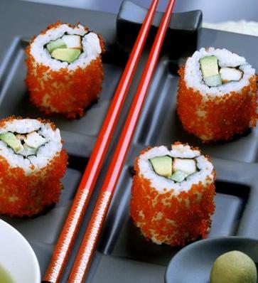 三上寿司寿司卷