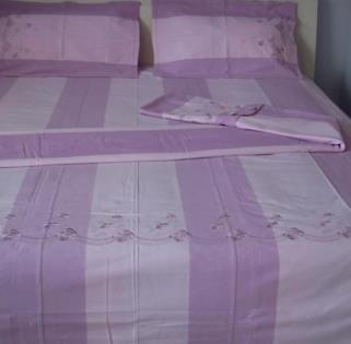 家尚美老粗布家纺紫