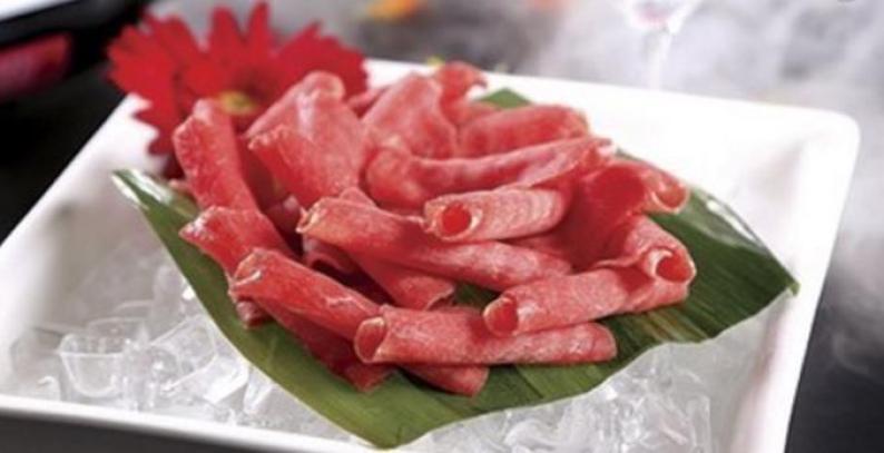 鼎鼎香火锅羊肉卷