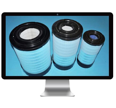 洁气纳米纤维空气滤清器产品设计图