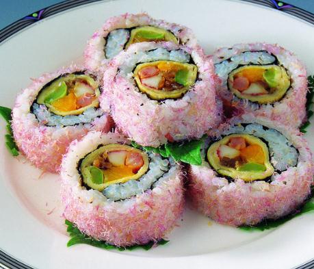 嘿店寿司小吃粉色
