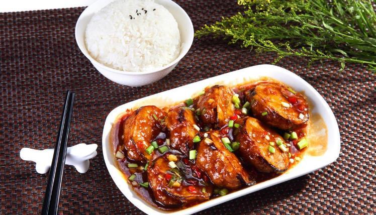 顺旺客西式快餐鱼香茄儿子米饭
