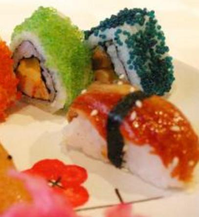 板一寿司蟹籽寿司
